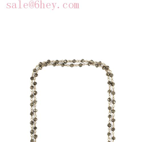 elsa peretti gold diamonds by the yard bracelet from tiffany